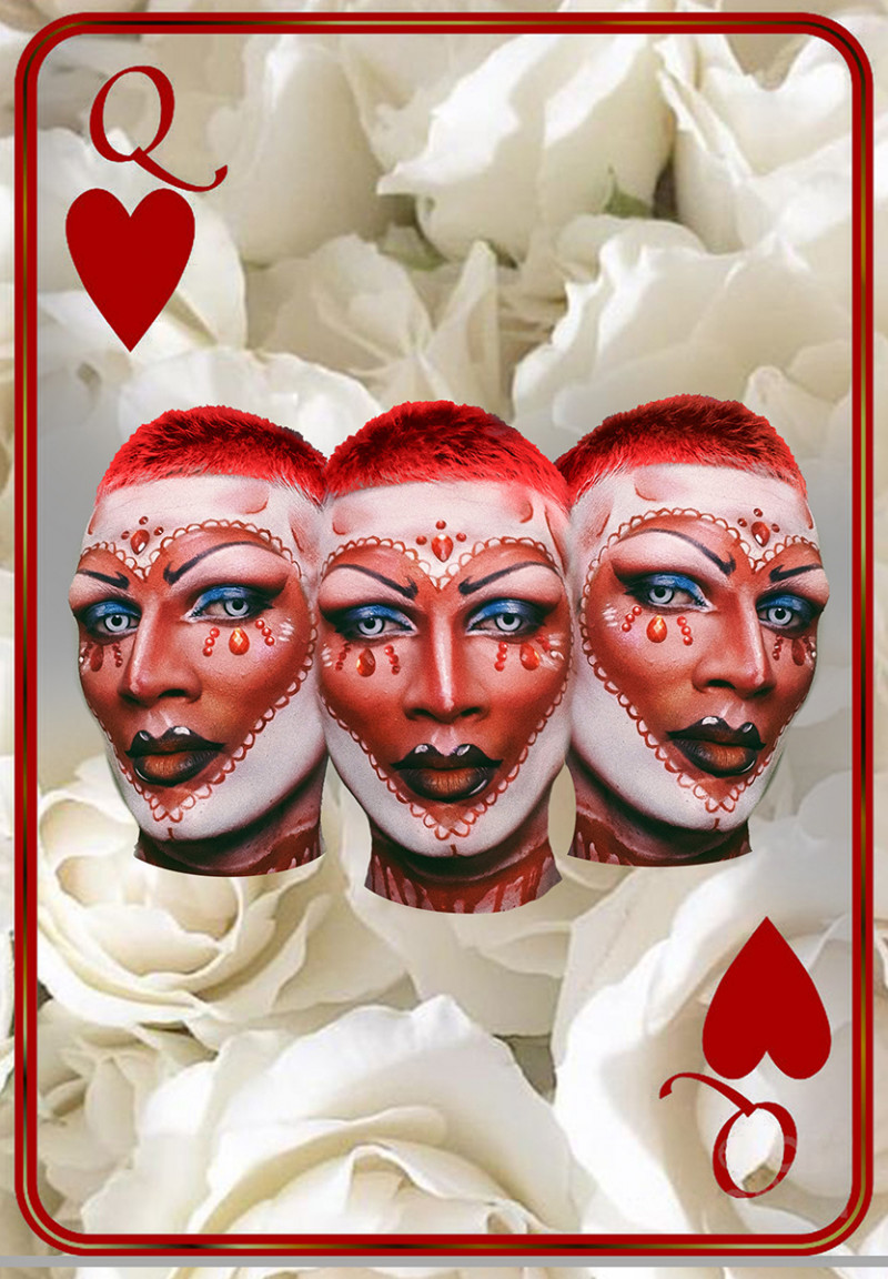 Faux Femm as Queen Of Hearts. | Issue 136