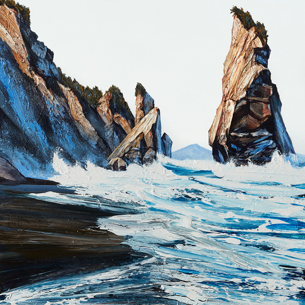 Eroding coastline captured on canvas - 139 | Regional News